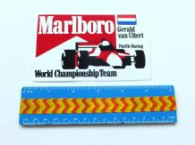 MARLBORO Gerald Van Uitert Pacific Racing   (F3?)   sticker  unused